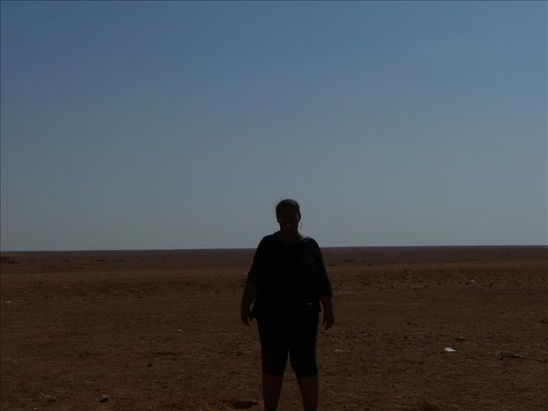 Jo-Ann in de woestijn - 2