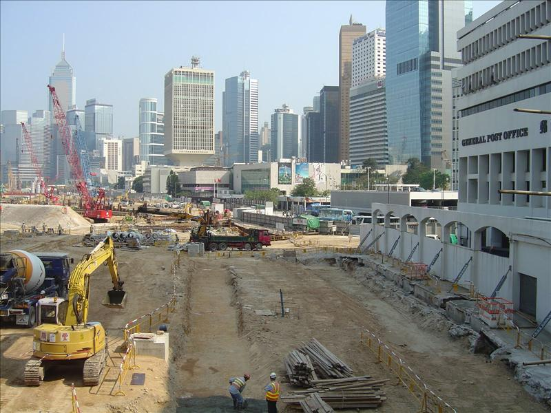 main financial district  is still under construction for more higher buildings.                                                                                                            is still under devloping for  more high buildings