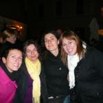 Shila, Donatella, me, Sara