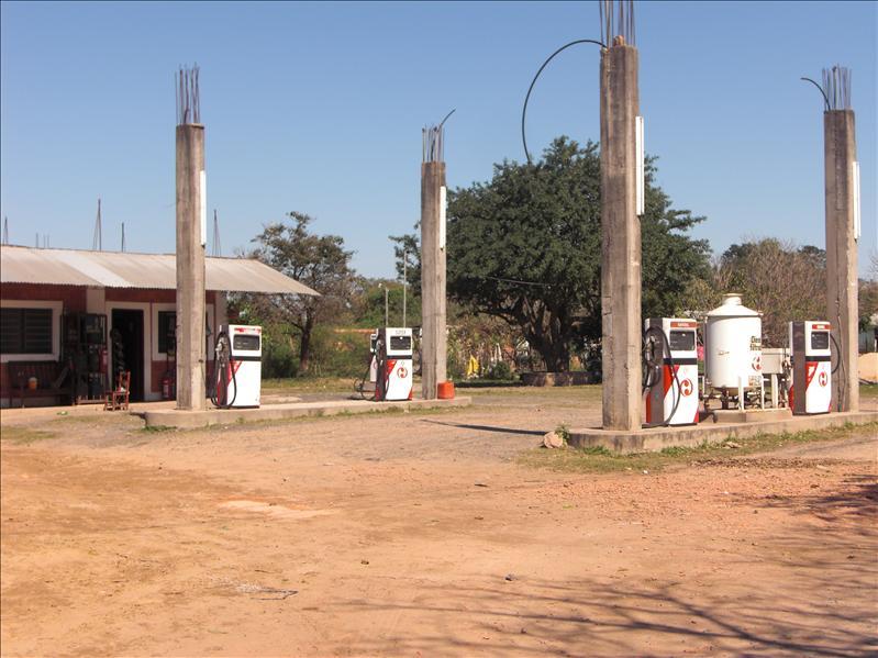 Tankstelle in Argentinien - Benzínkút