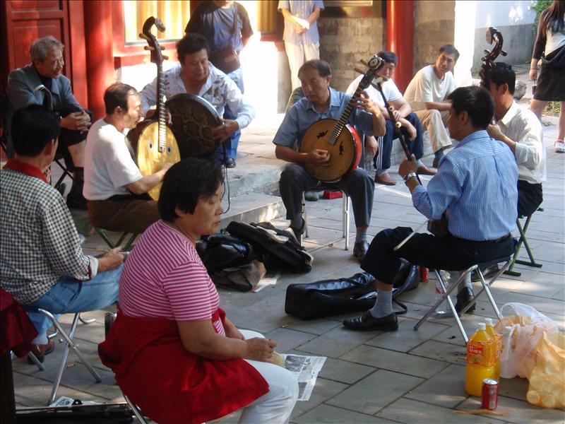 Live music in Beihai Park