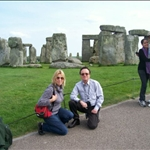 Prehistoric site Stonehenge