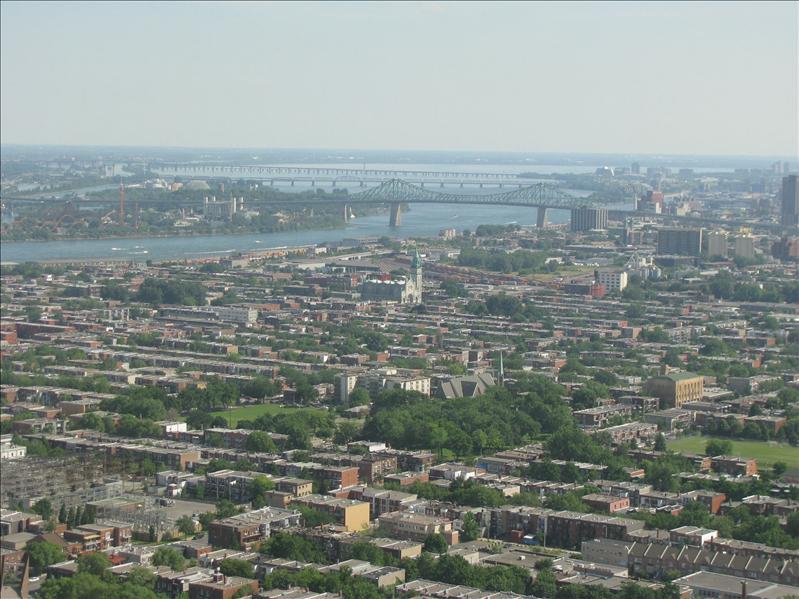 uitzichtje van bovenop gebouw