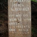 Kauai - Hiking tour, dangerous beach