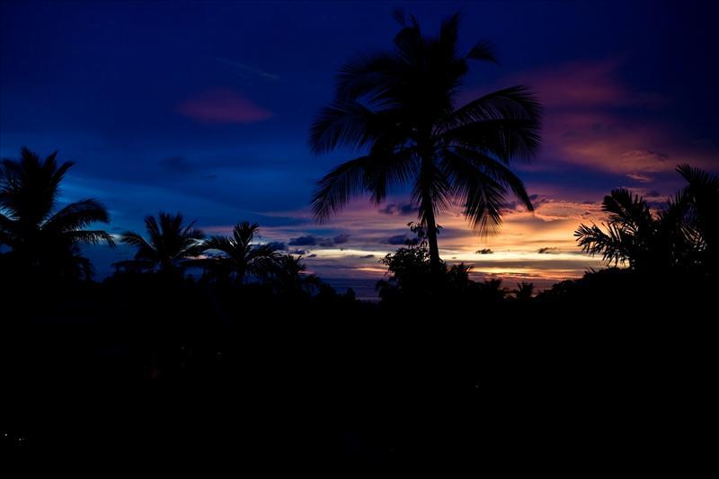 Sunset at Kata Beach - Hotel View