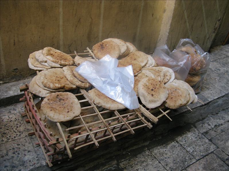 typisch egyptische broodjes