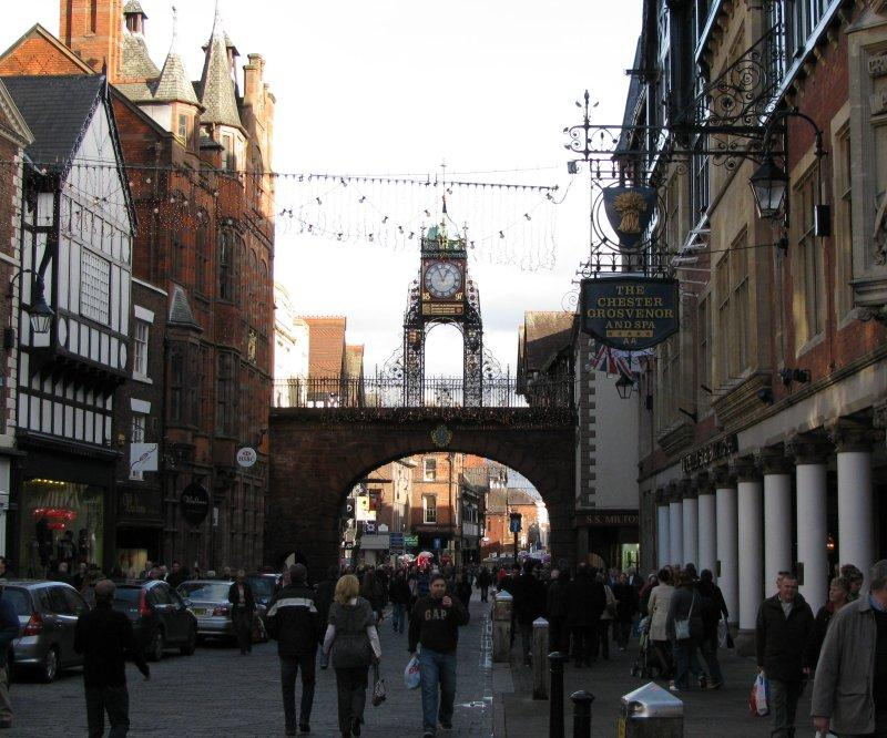 The Eastgate clock in ....