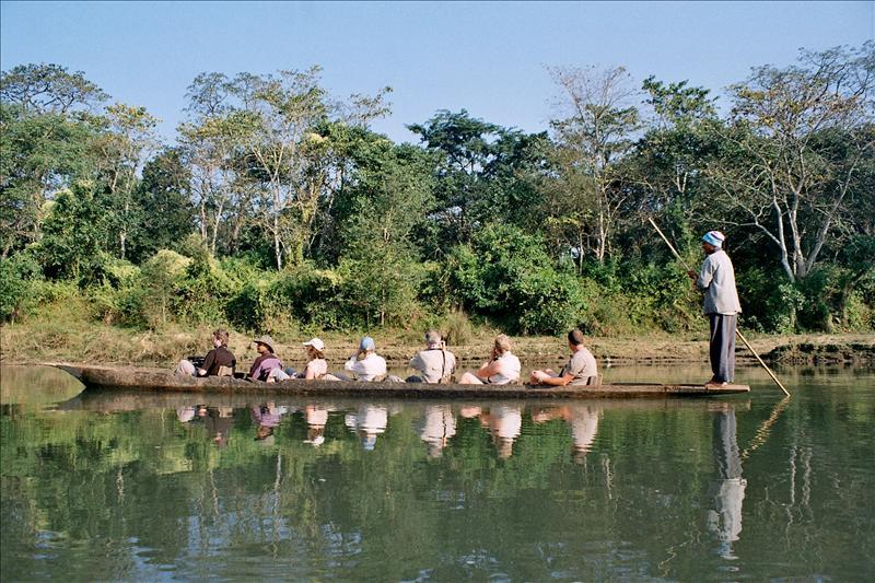 Dugout Canoe, Chitwan