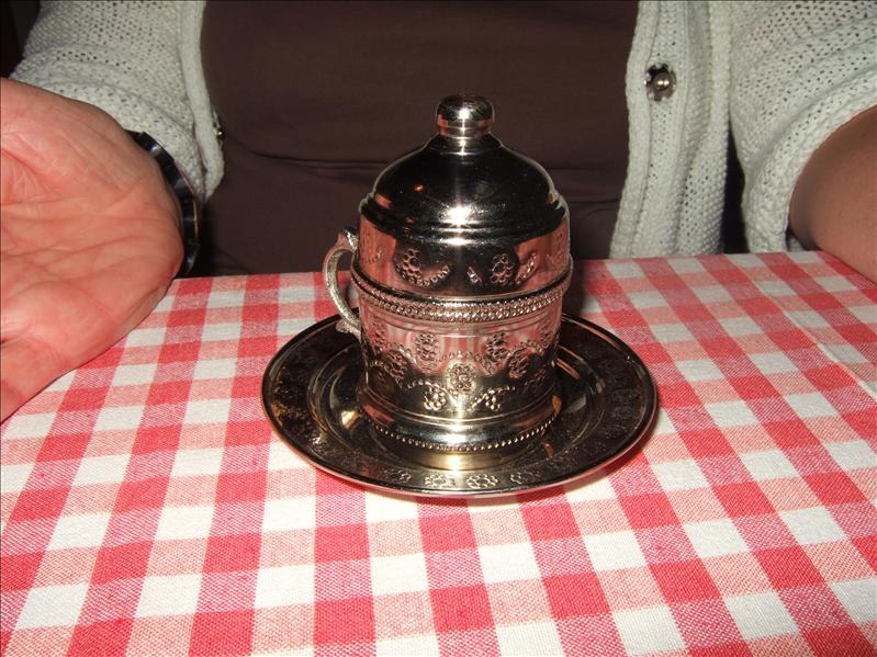 Turkish Coffee at the Sultan Garden Restaurant