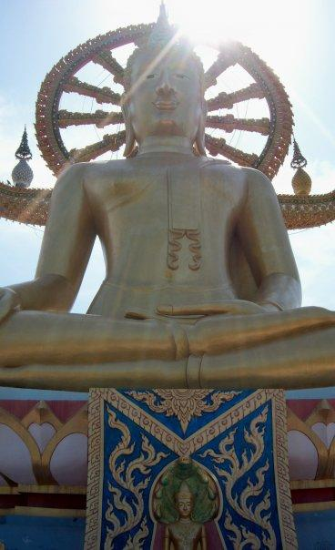 BIG BUDDHA, KO SAMUI - BATHED IN SERENE LIGHT