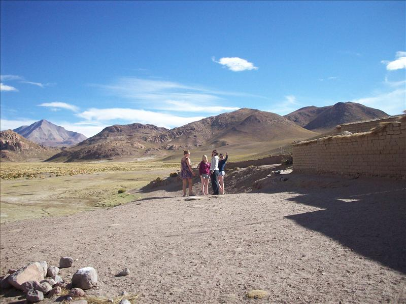 Checking out the bolivian Landscape