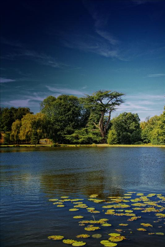 One of the Lakes at Leeds Castle