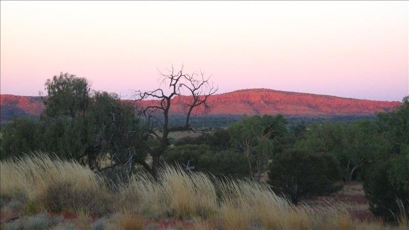 Kings Canyon at Sunset