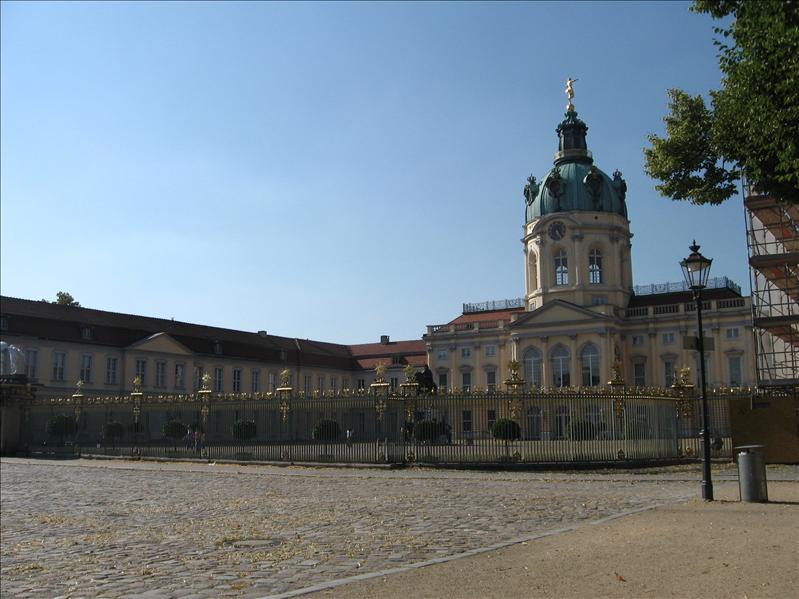 Front of Charlottenburg