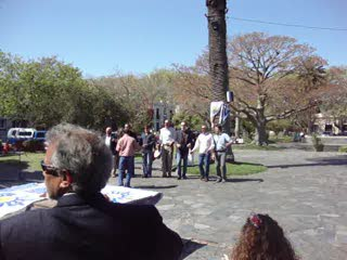 Independence Day in Colonia, Uruguay.