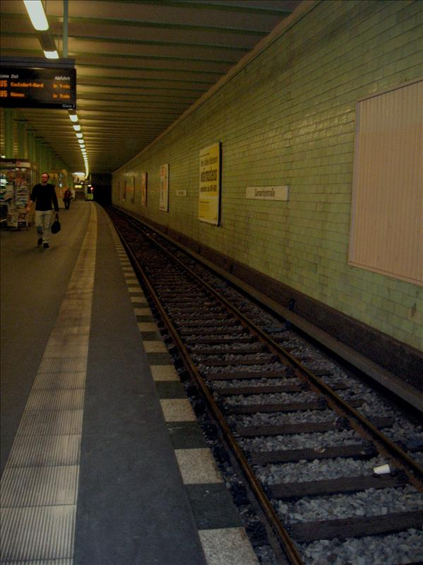 Berlin's Subways don't have rats or leaking roofs!