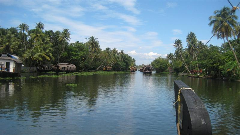Our Journeythrough a Houseboat.. we borrowed it for one full Day(12 PM to 10 AM next day). We have a captain and cook onboard..