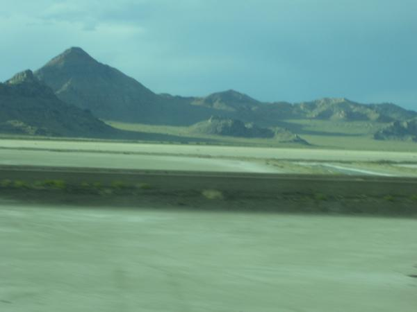Bonnieville Salt Flats Out Side of Salt Lake City UT