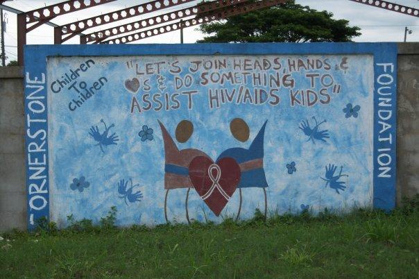 SAN IGNACIO, BELIZE - AIDS SIGN