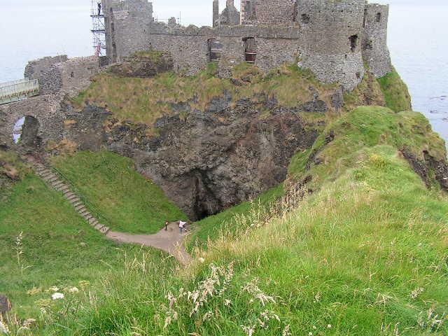 The Storage Cave for the Castle