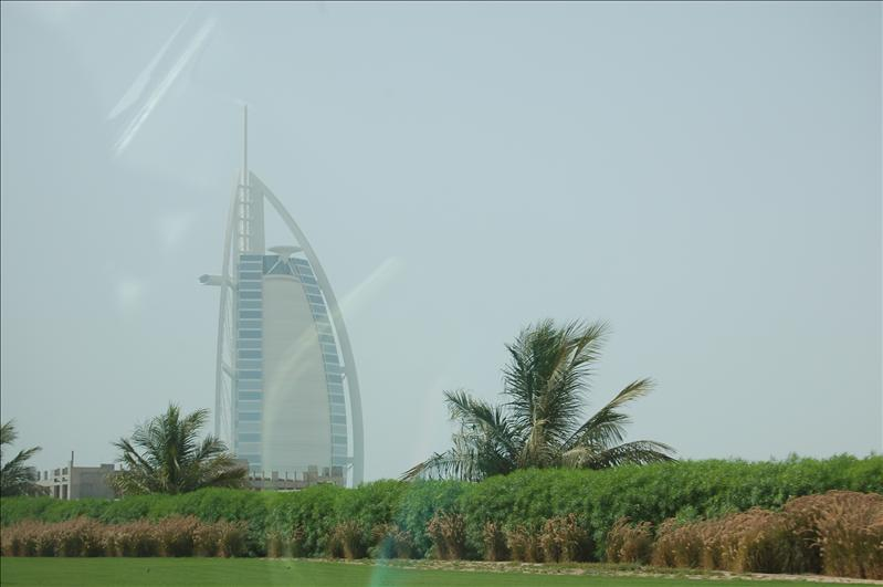 The Berj Al Arab built on water!
