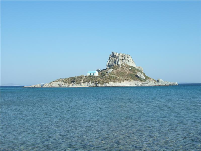 View from the Sacallis Hotel Beach, Kefalos Bay