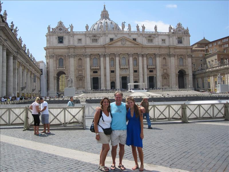 St Peter's and the Vatican, Rome