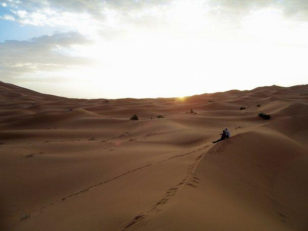 MERZOUGA AT DAWN
