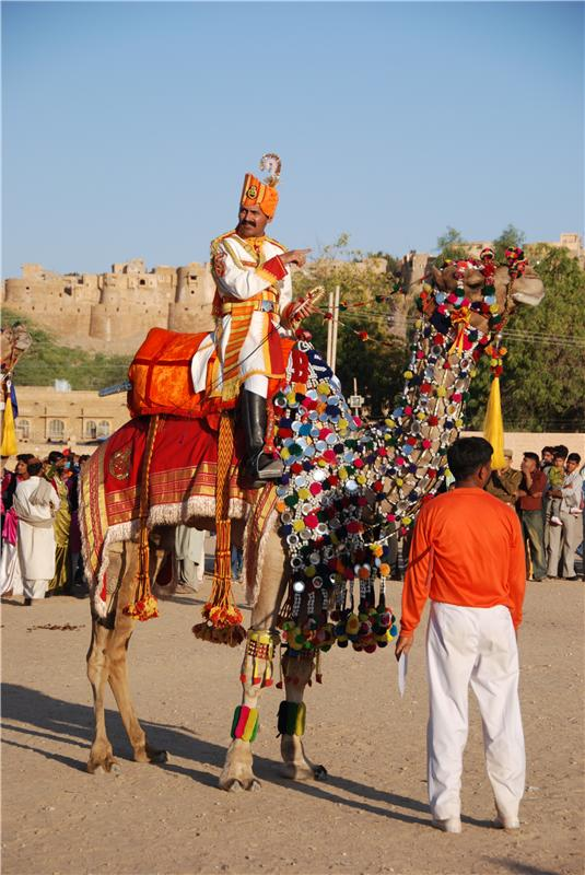Camel show, Jaisalmer