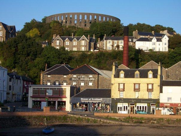 McCAIG'S TOWER AND WATERFRONT, OBAN, SEPT 2008