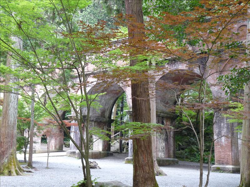 old brick structeru at nanzenji temple