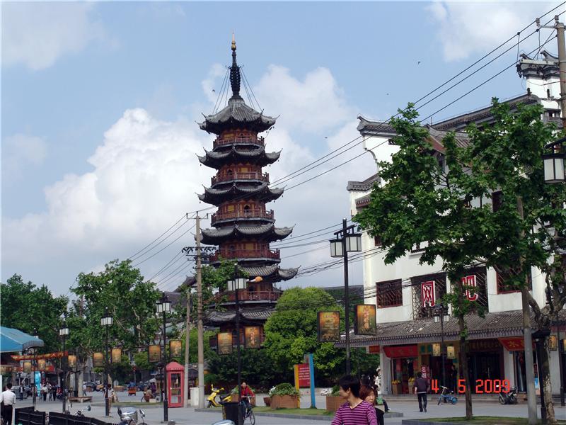 龙华寺、上海