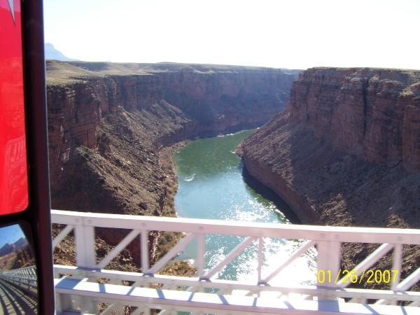 Navajo Bridge outside of Page AZ