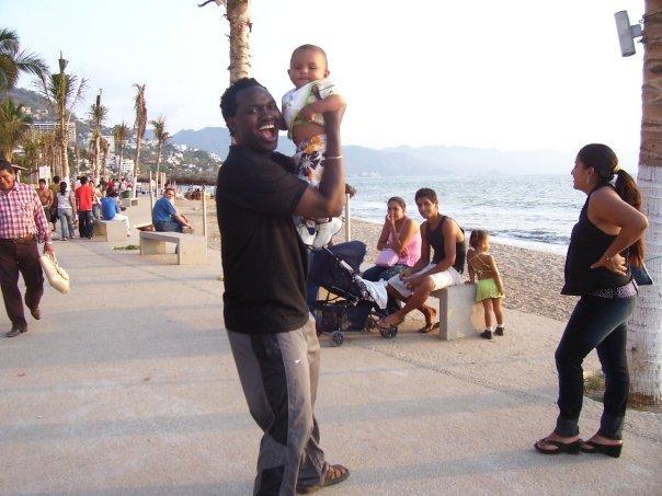 Saint Festo blessing the babies.