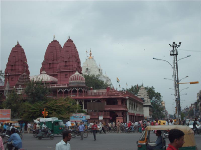 Birla Mandir, a Hindu temple