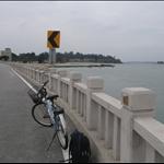 沿著海騎單車