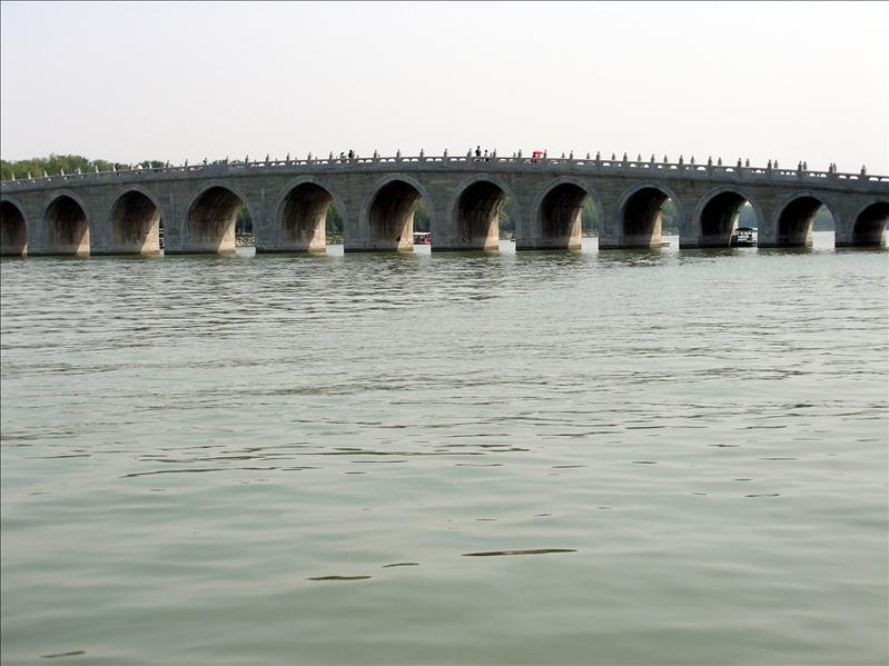 Seventeen Arch Bridge, Summer Palace.