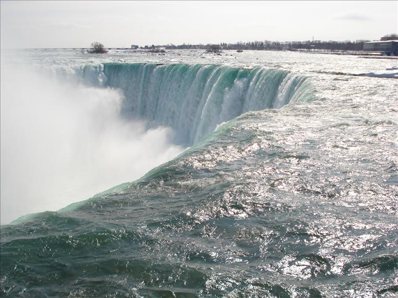 Niagara fall.(in Canada)