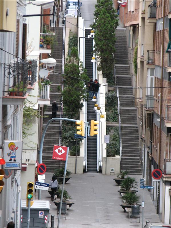 oh yay! escalators!