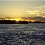 SUNSET OVER THE ZAMBEZI - MAR