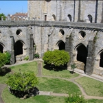 ..and peaceful cloisters.