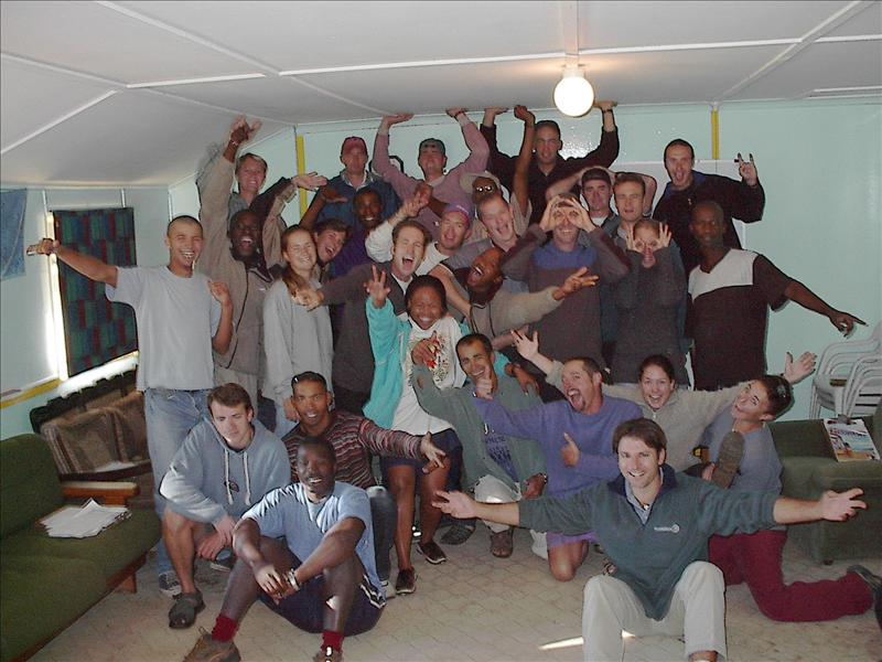 OUTWARD BOUND SOUTH AFRICA, 2002!
