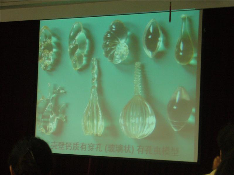 有孔蟲講座 @ 中國科技研究院海洋研究所