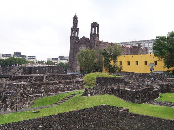 MEXICO CITY - REMAINS OF TENOCHTITLAN