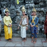 TRADITIONAL DANCERS, THE BAYON