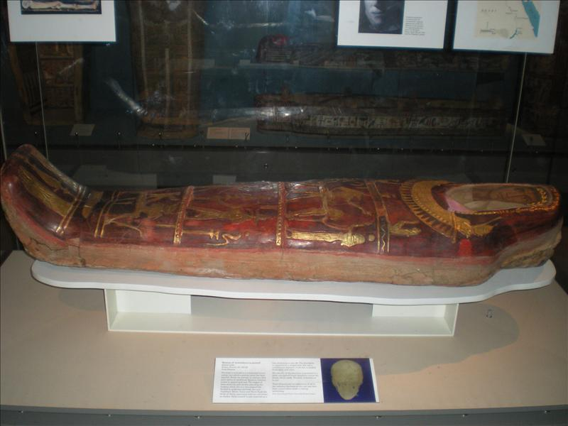 A real mummy, British Museum - 19th May