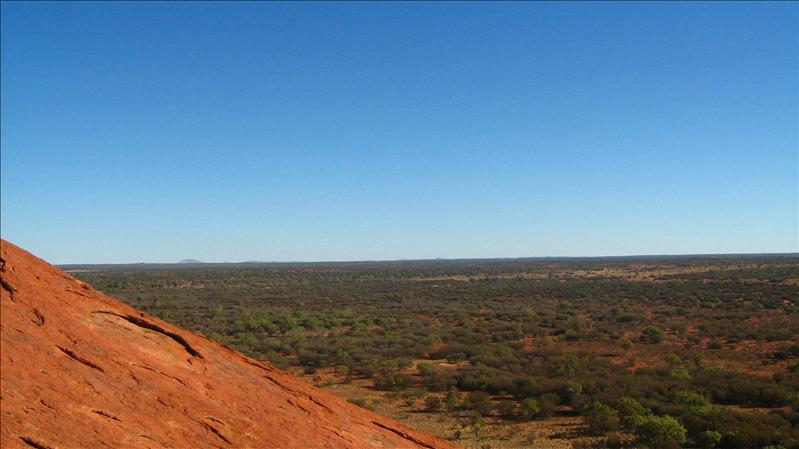View from Uluru