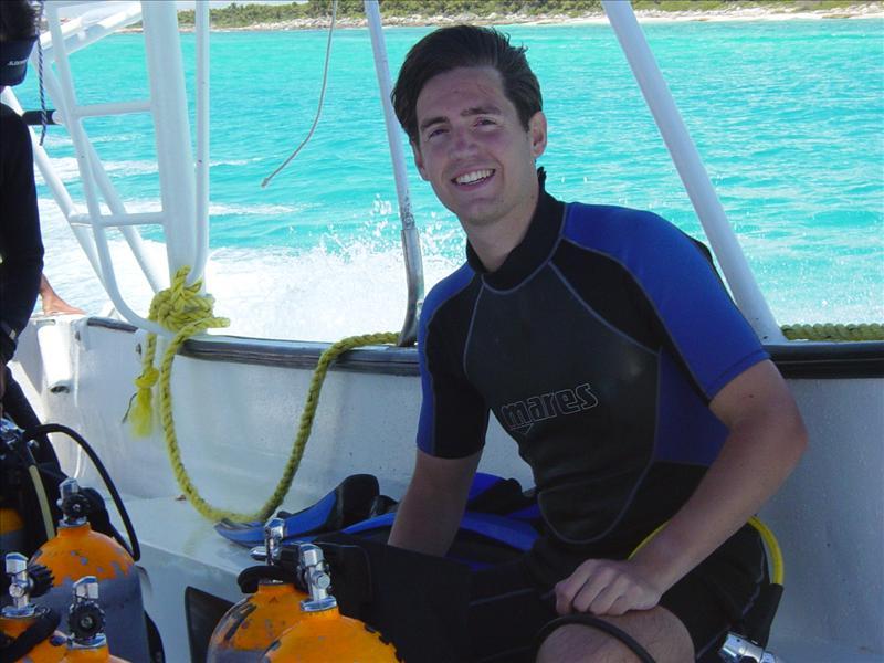 Diving trip at turtleriff