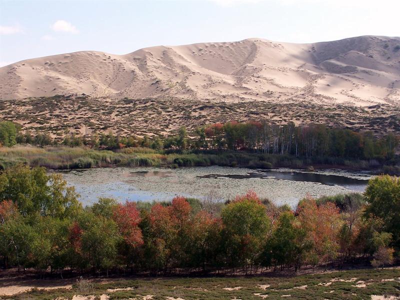 Sand Hill, near Habahe, Xinjiang