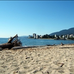 Ambleside Park beach view